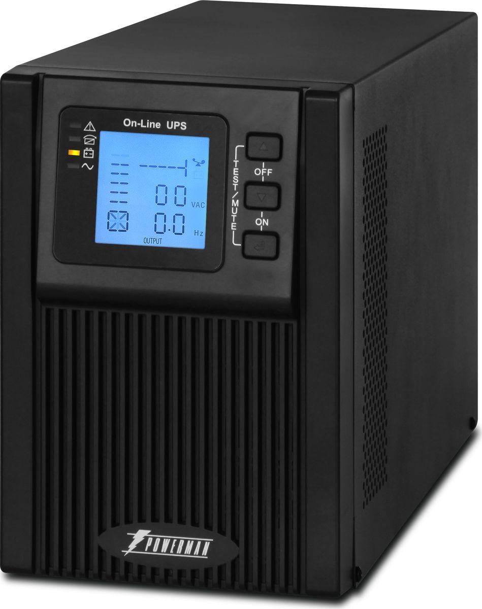 Источник бесперебойного питания Powerman  UPS Online 1000 Plus , 1000 ВА - Источники бесперебойного питания (UPS)