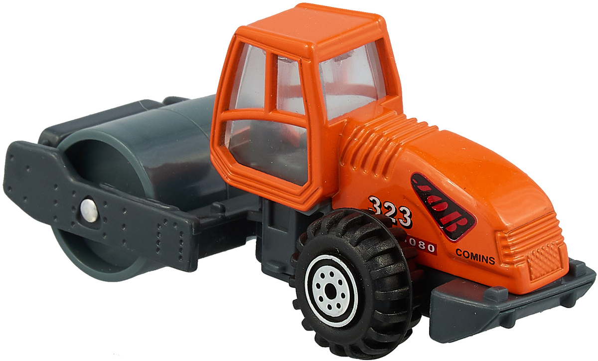 Pioneer Toys Машинка Строительная техника Каток matchbox toys