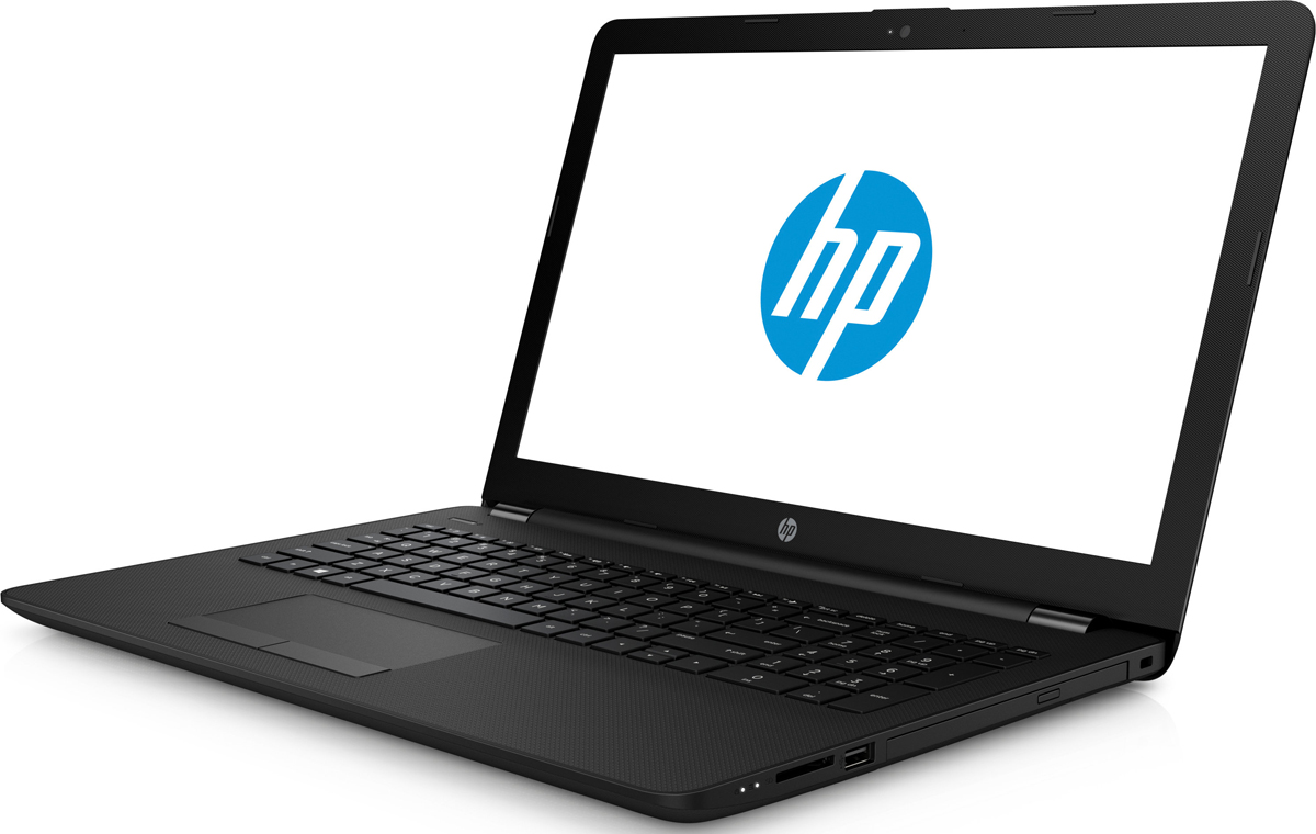 HP 15-rb017ur, Black (15-RB017UR) ноутбук hp 255 g5 w4m74ea amd e2 7110 1 8 ghz 2048mb 500gb dvd rw amd radeon r2 wi fi bluetooth cam 15 6 1366x768 dos