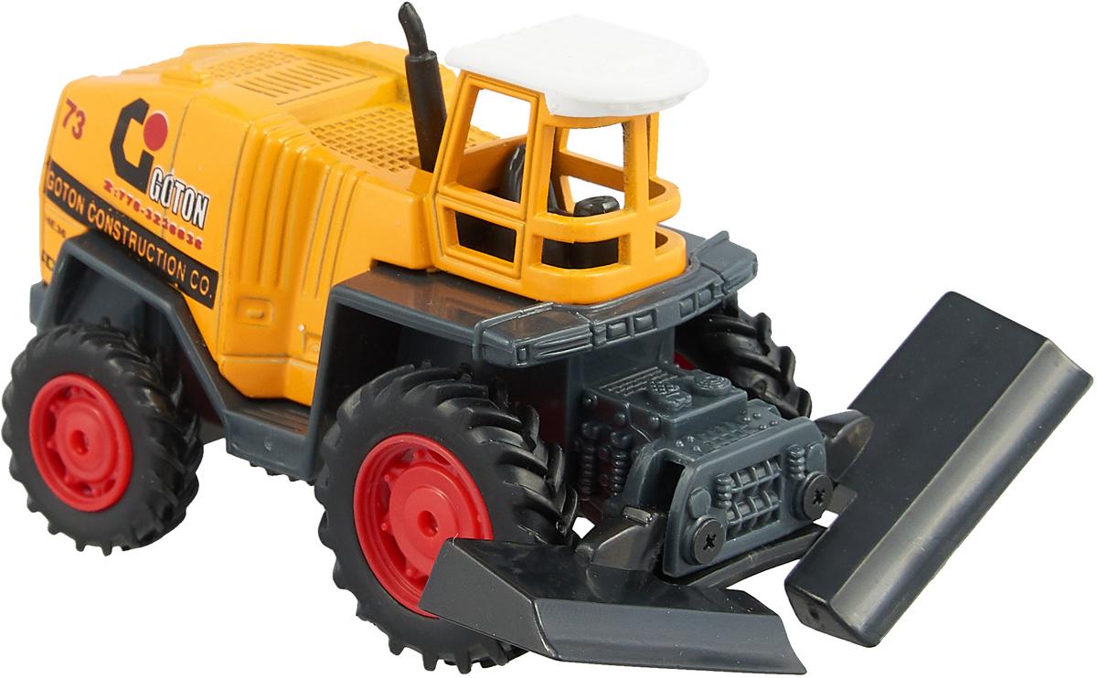 Pioneer Toys Машинка Строительная техника цвет трактора желтый pioneer toys машинка строительная техника 236