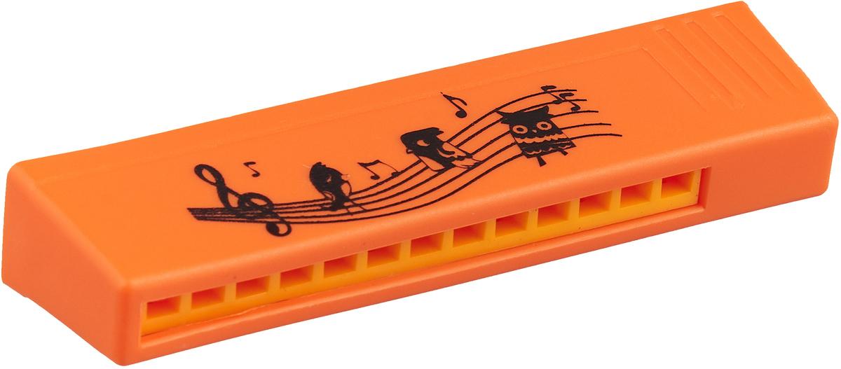 Пластмастер Гармошка малая цвет оранжевый