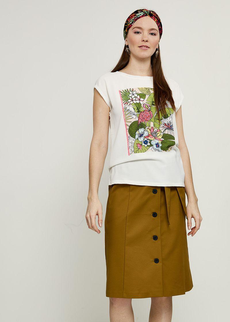 Блузка женская Zarina, цвет: разноцветный. 8224508408049. Размер XXL (52) блузка женская zarina цвет разноцветный 8224508408049 размер xxl 52