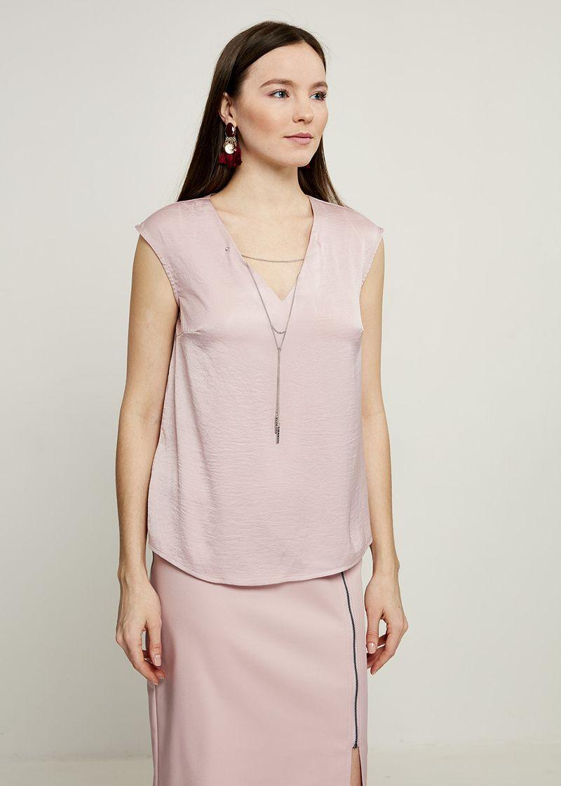 Блузка женская Zarina, цвет: розовый. 8224072302098. Размер 48 блузка quelle zarina 1017146