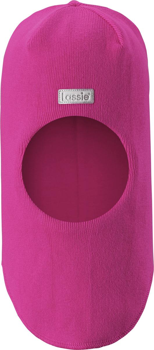 Шапка для девочки Lassie, цвет: розовый. 7187434680. Размер 54/56