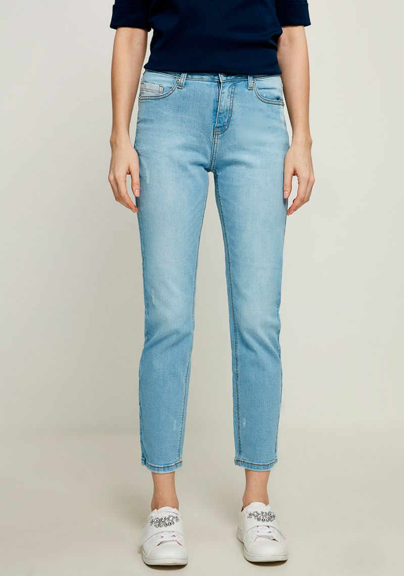 Джинсы женские Zarina, цвет: синий. 8224438738101. Размер 42 джинсы женские zarina цвет синий 8224437737103 размер 42