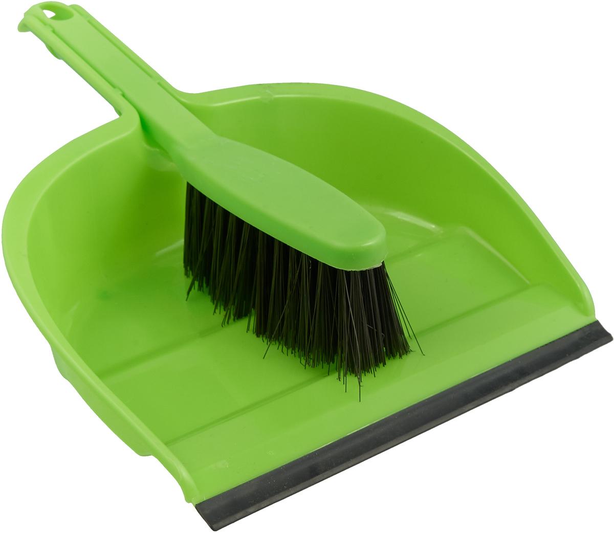 Набор для уборки Коллекция, цвет: салатовый, 2 предмета. ATP-45