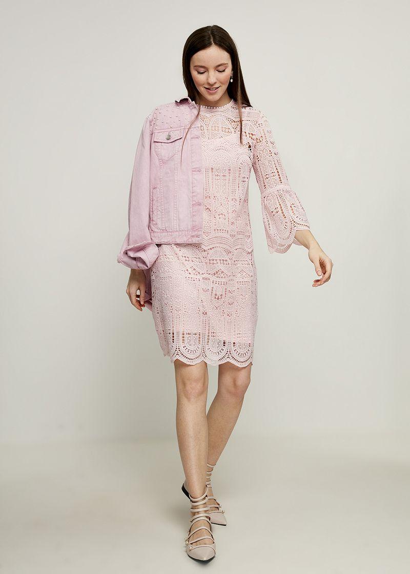 Платье Zarina, цвет: светло-розовый. 8224022522097. Размер 44 платье zarina цвет зеленый 8224001501012 размер 44