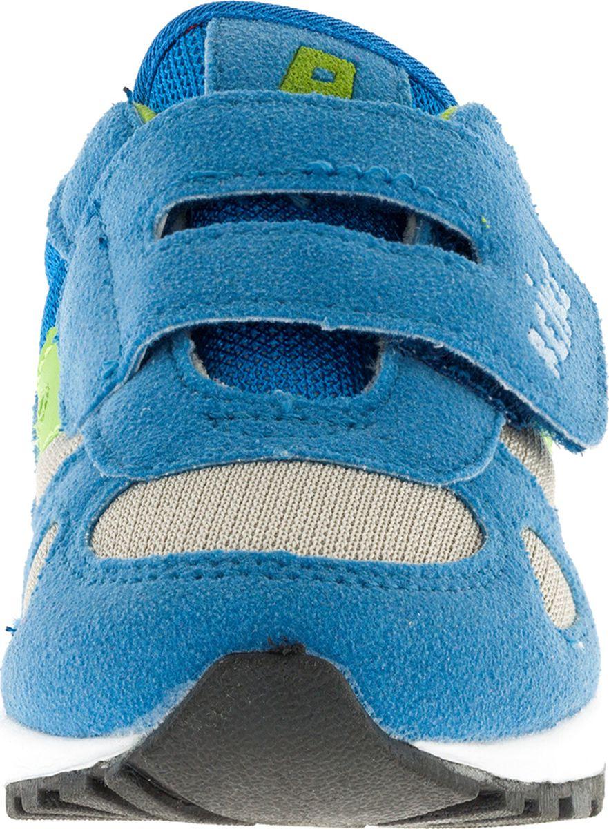 Стильные кроссовки S.Oliver придутся по душе вашему ребенку. Кроссовки, выполненные из искусственной замши и текстиля, оформлены прострочкой и на ремешке тиснением в виде логотипа бренда. Ремешок с липучкой надежно фиксирует обувь на ноге. Подкладка и стелька из мягкого текстиля комфортны при ходьбе. Рифление на подошве обеспечивает идеальное сцепление с любыми поверхностями. Эффектные кроссовки необходимая вещь в гардеробе каждого ребенка.