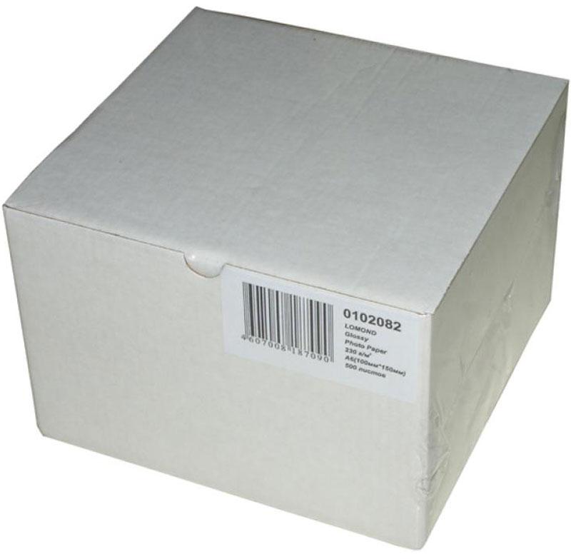 Lomond 0102083 фотобумага матовая для струйной печати А6 180 г/м, 600 листов бумага lomond 10 15 180г кв м односторонняя матовая 0102083 600л