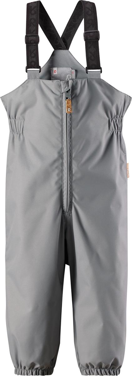 Брюки утепленные детские Reima Reimatec Erft, цвет: серый. 512095R9370. Размер 92512095R9370Водонепроницаемые брюки от Reima для малышей для прогулок на воздухе весной и осенью гарантируют надежную защиту от ветра и дождя. Они хорошо комбинируются со всеми демисезонными куртками для младенцев Reima. Удобные, эластичные подтяжки регулируются, предоставляя пространство на вырост. Эластичные штрипки удобно фиксируют низ брючин при ходьбе, защищая щиколотки во время игр на воздухе.