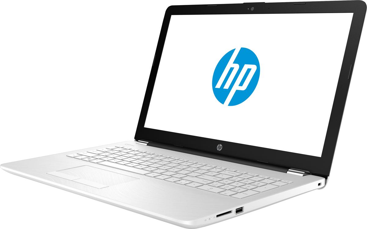 HP 15-bs048, White (1VH47EA)501372Стильный ноутбук HP 15-bs, помимо выполнения повседневных задач, поможет вам оставаться на связи весьдень. Благодаря неизменно высокой производительности и длительному времени работы от аккумулятора выможете с комфортом пользоваться Интернетом, вести потоковое вещание и оставаться на связи с нужнымилюдьми.Процессор обеспечивает неизменно высокую производительность, котораянеобходима для работы и развлечений. Надежность и долговечность ноутбука позволят легко выполнять всенеобходимые задачи.Развлекайтесь и оставайтесь на связи с друзьями и семьей благодаря превосходному дисплею и камере. Кроме того, с этим ноутбуком вашилюбимые музыка, фильмы и фотографии будут всегда с вами.Продуманная конструкция и замечательный дизайн этого ноутбука HP с дисплеем диагональю 39,6 см (15,6)идеально подойдут для вашего образа жизни. Изящное оформление, оригинальное покрытие добавят немногоцвета в будни.Точные характеристики зависят от модификации.Ноутбук сертифицирован EAC и имеет русифицированную клавиатуру и Руководство пользователя