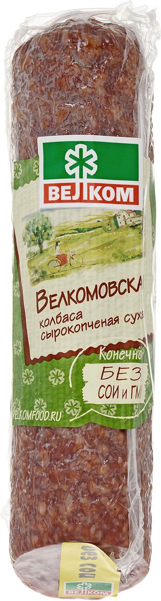 Велком Велкомовская колбаса сырокопченая, 300 г колбаса брауншвейгская сырокопченая 1кг черкизовский мк