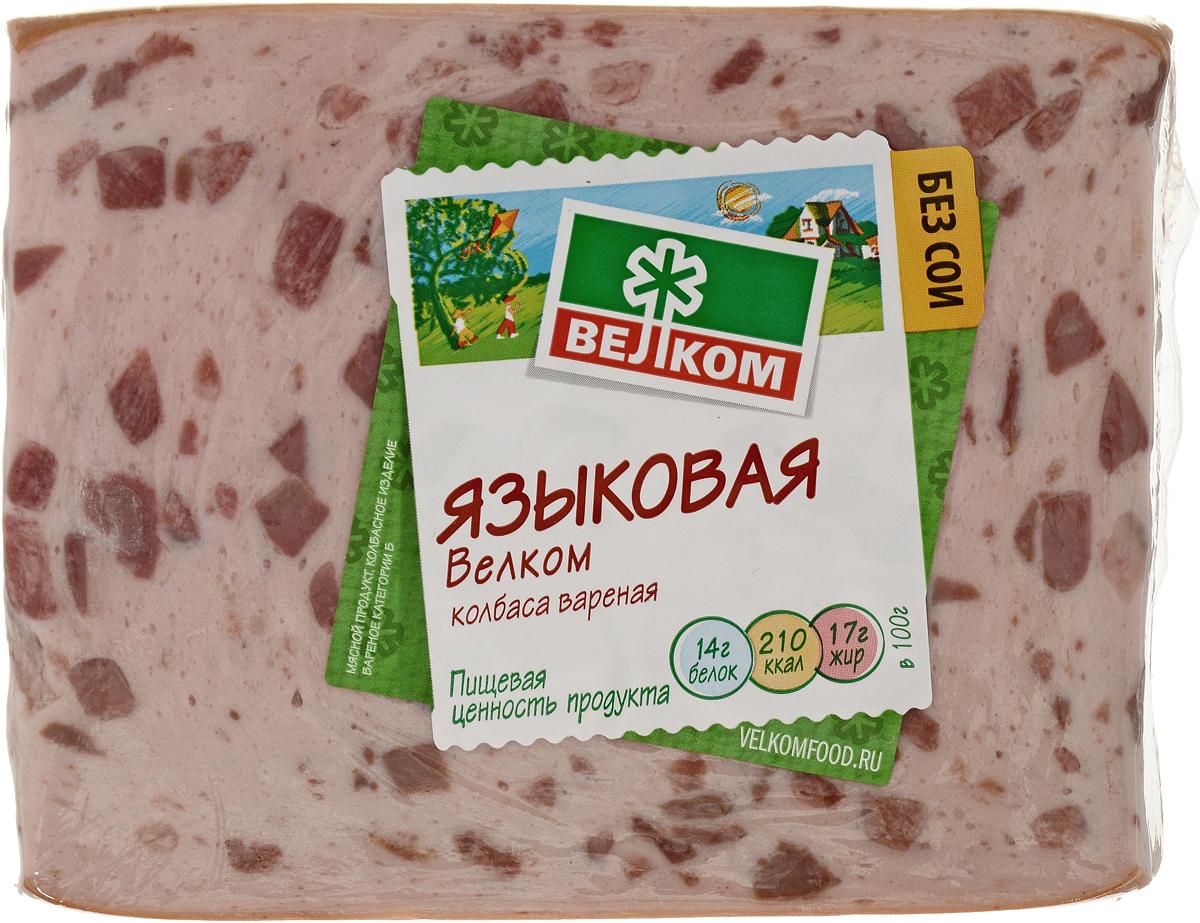 Велком Языковая колбаса, 500 г