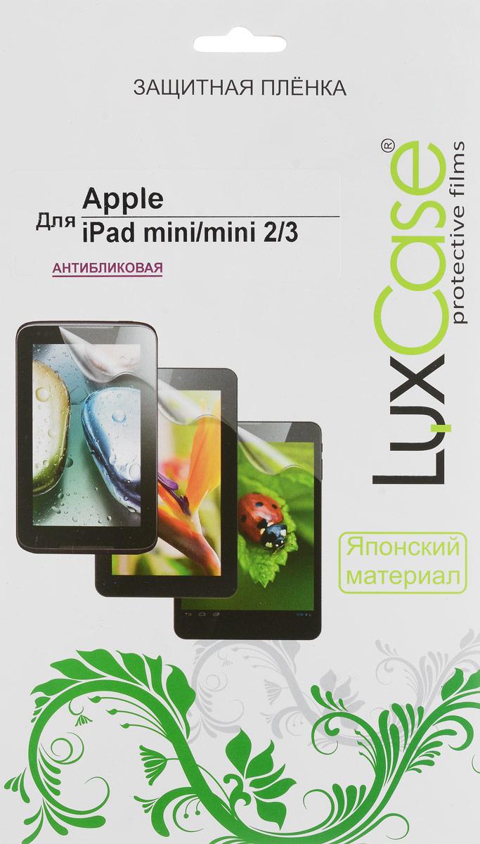 Luxcase защитная пленка для Apple iPad mini, антибликовая80264Защитная пленка для Apple iPad mini - это универсальная защитная пленка, предохраняющая дисплей Вашего электронного устройства от возможных повреждений. Размеры пленки полностью совместимы с Apple iPad mini. Выбирая защитные пленки LuxCase - Вы продлеваете жизнь сенсорному экрану приобретенного вами мобильного устройства. Защитные пленки LuxCase удобны в использовании и имеют антибликовое покрытие. Благодаря использованию высококачественного японского материала пленка легко наклеивается, плотно прилегает, имеет высокую прозрачность и устойчивость к механическим воздействиям. Потребительские свойства и эргономика сенсорного экрана при этом не ухудшаются. Защитные пленки LuxCase не искажают изображение, приклеиваются легко и ровно. Данная пленка темного оттенка.