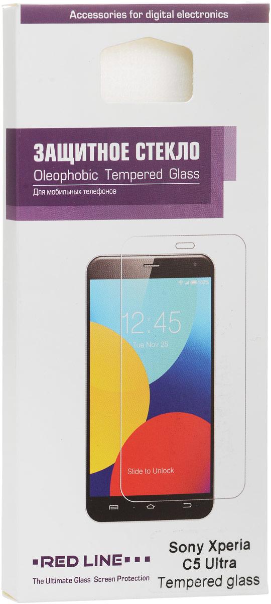 Red Line защитное стекло для Sony Xperia C5 Ultra стоимость