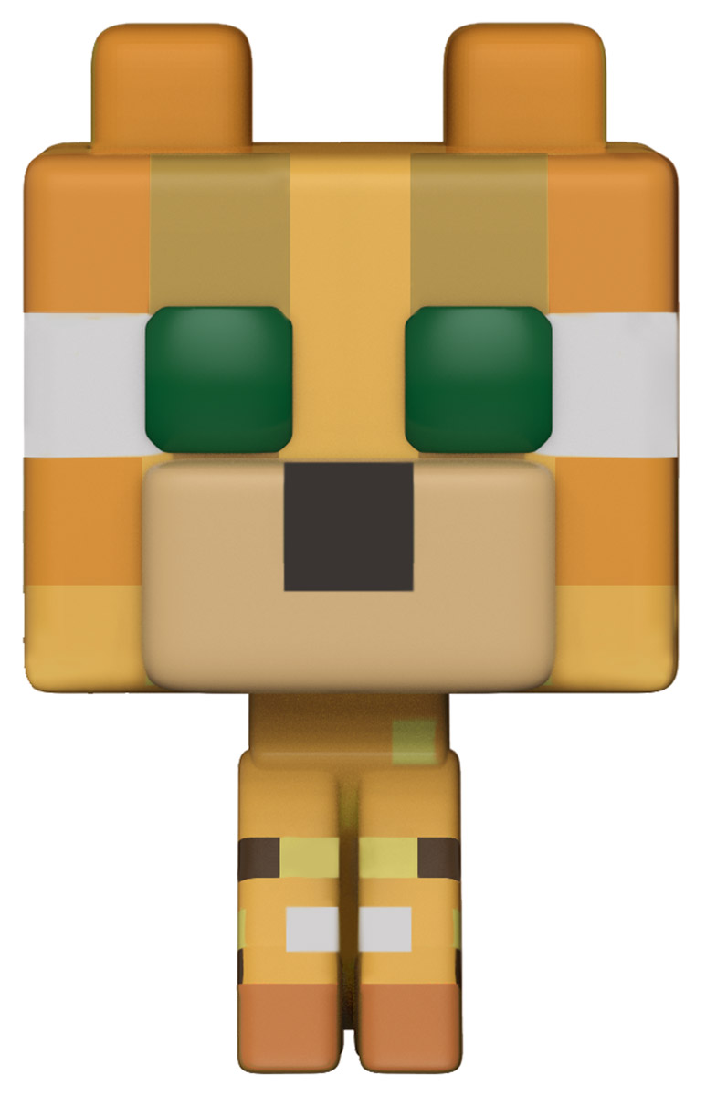 Funko POP! Vinyl Фигурка Games Minecraft Ocelot 26385 фигурка funko pop games street fighter blanka hyper fighting