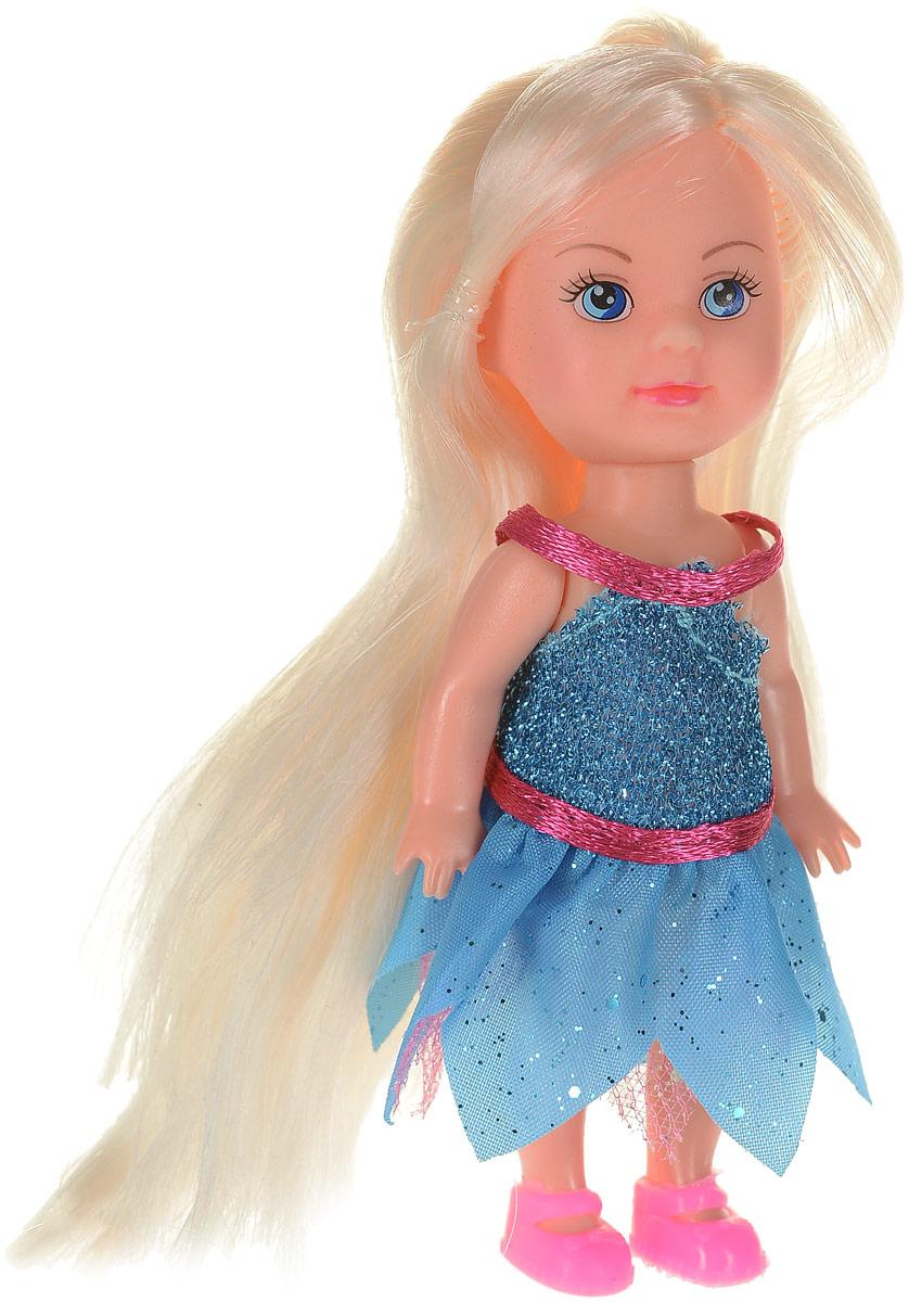 Карапуз Кукла Машенька Фея с крылышками цвет голубой карапуз кукла золушка со светящимся амулетом 37 см со звуком принцессы дисней карапуз