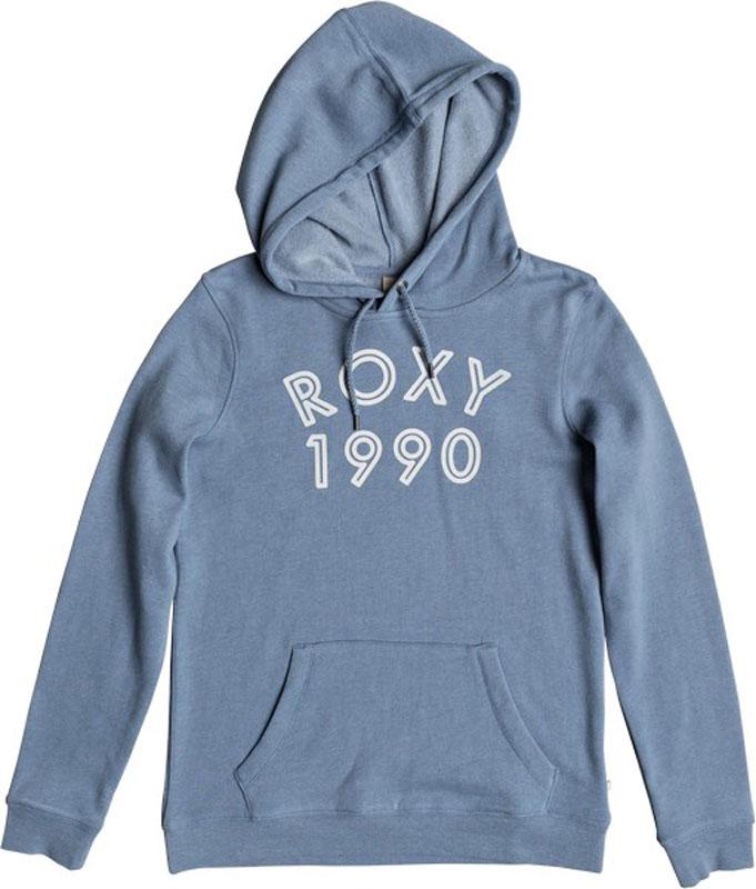 Худи женское Roxy Full Of Joy A, цвет: синий. ERJFT03728-BKQ0. Размер XS (40) шорты женские roxy цвет синий erjns03135 btk0 размер xs 40