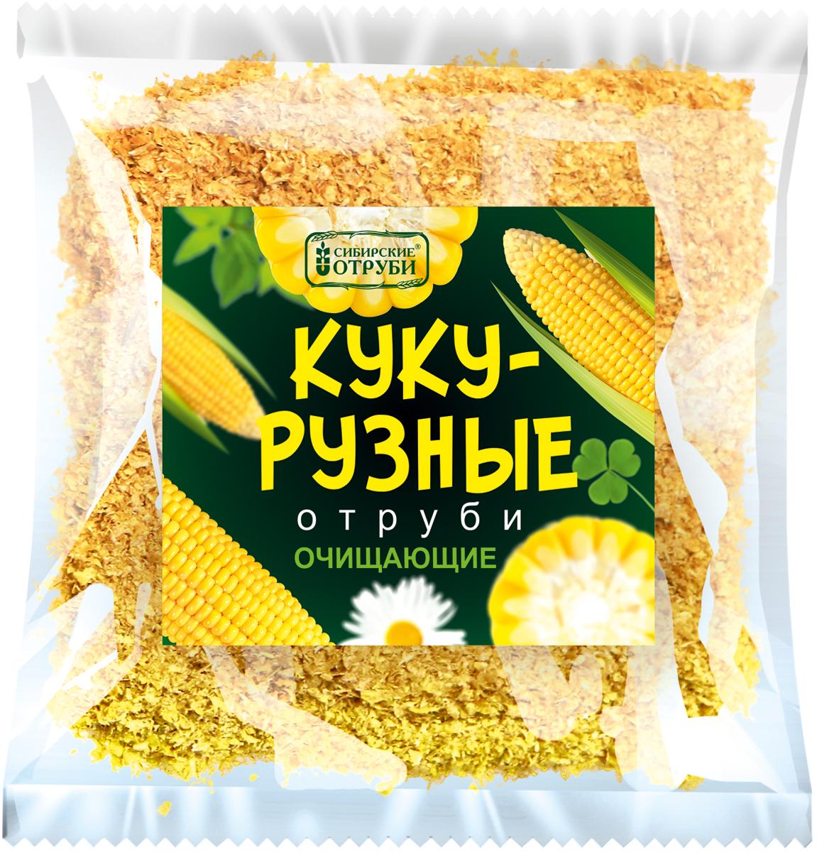Сибирские отруби Кукурузные очищающие, 180 г сибирские отруби хрустящие сила фруктов 100 г