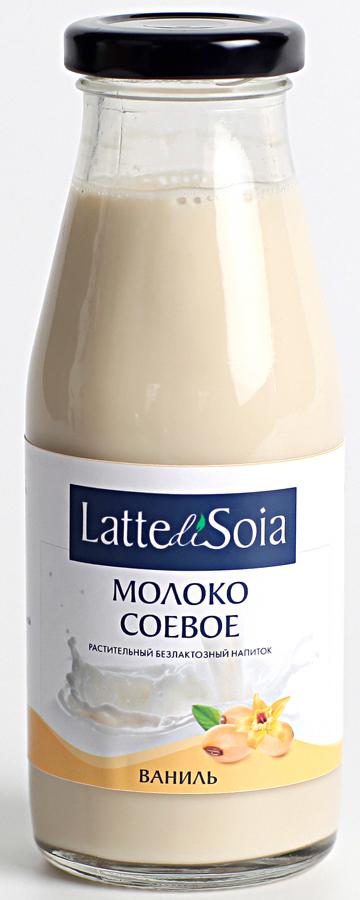 Latte di Soia Ваниль Соевое молоко, 500 г latte di soia банан соевое молоко 500 г