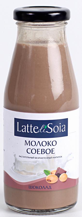 Latte di Soia Шоколад Соевое молоко, 500 г latte di soia банан соевое молоко 500 г