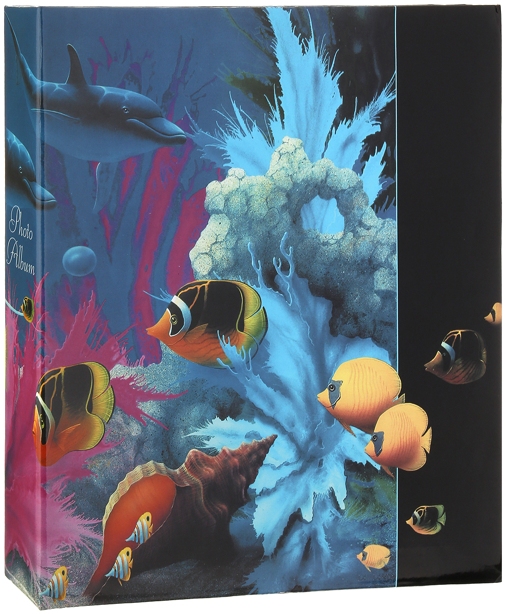 Фотоальбом Pioneer Dolphins Дельфин, рыбки, ракушки, 500 фотографий, 10 х 15 см фотоальбом platinum ландшафт 1 200 фотографий 10 х 15 см цвет зеленый голубой коричневый pp 46200s