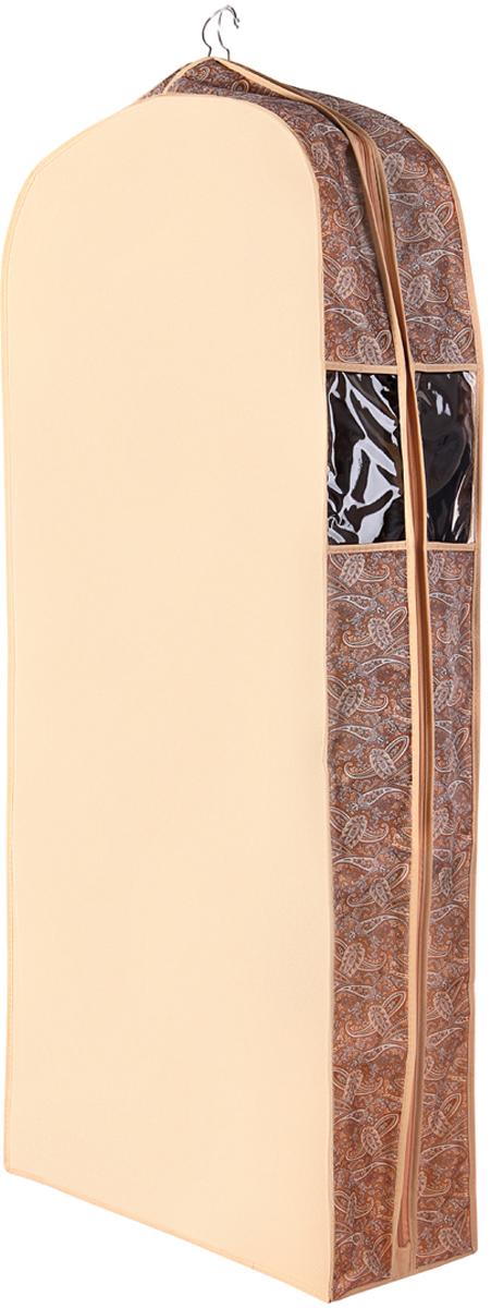 Чехол для одежды Cofret Русский шик, двойной 60 x 100 x 20 см чехлы для одежды cofret чехол для шубы для хранения шебби нью 129