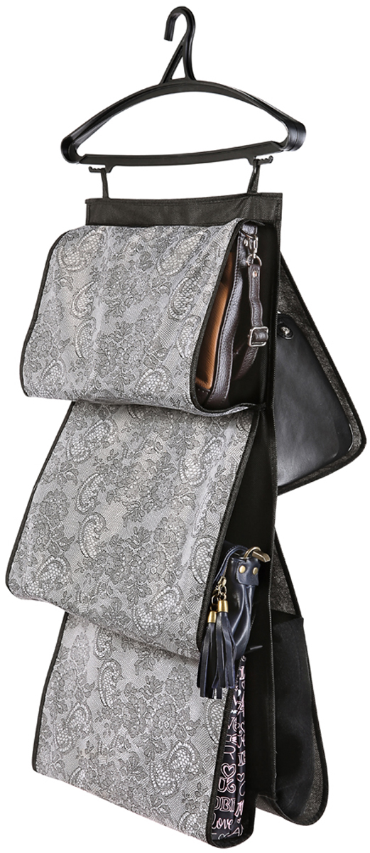 Кофр для сумок Cofret Ажур, двусторонний, 5 карманов 40 x 70 см