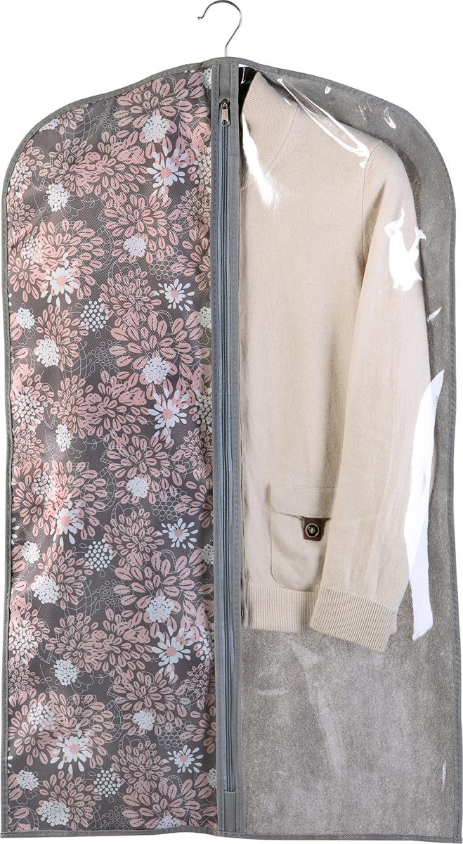 Чехол для одежды Cofret Серебро, 60 x 100 см купить вешалку напольную для брюк и