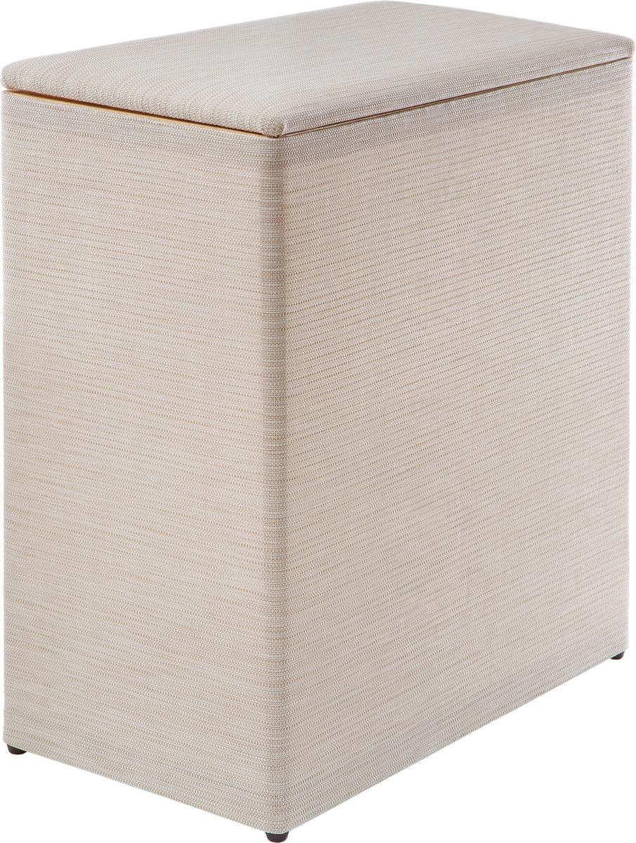 Изготовлена из текстилена, современного безопасного материала, обладающего хорошей воздухопроницаемостью, высокой прочностью и износостойкостью, не впитывающего влагу и запахи. Корзина имеет сборно-разборный каркас из натуральных буковых реек с экологически чистым влагостойким покрытием. Конструкция каркаса, а так же прочность откидной крышки с мягким покрытием, позволяют использовать корзину в качестве пуфика (выдерживает до 80 кг.) Сборка и разборка корзины не требует использования инструмента. Инструкция по сборке прилагается. Размер в собранном виде: 46 х 27 х 53 см. Размер в разобранном виде: 46 х 27 х 10 см.