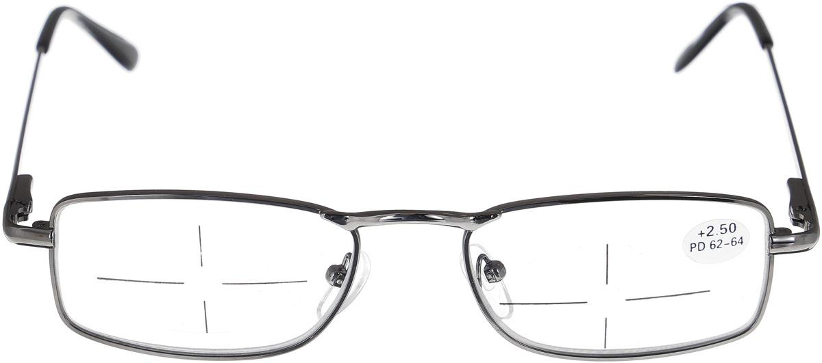 Proffi Home Очки корригирующие (для чтения) 5858 Ralph +2.50, цвет: черный proffi home футляр для очков fabia monti цвет бордовый