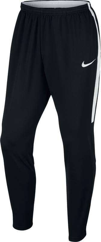 Брюки спортивные мужские Nike Dry Football Pant, цвет: черный, белый. 839363-010. Размер S (44/46) лонгслив мужской nike dry football drill top цвет черный 839344 013 размер s 44 46