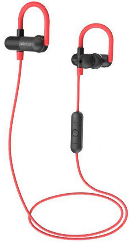QCY QY11-BLR, Black Red наушники qcy q26 pro mini wireless bluetooth music headset
