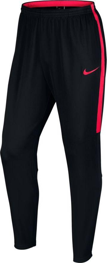 Купить Брюки спортивные мужские Nike Dry Football Pant, цвет: черный, красный. 839363-024. Размер M (46/48)
