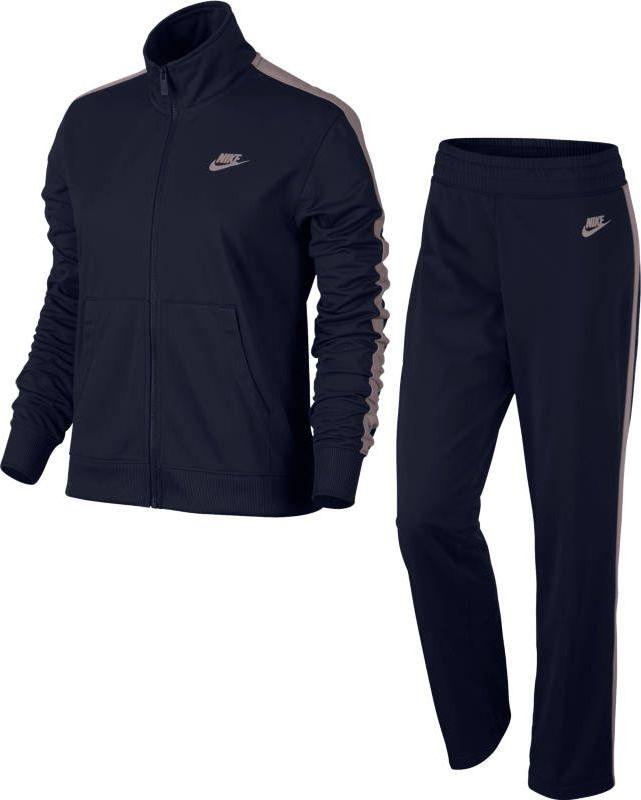 Купить Костюм спортивный женский Nike Sportswear Track Suit, цвет: синий. 830345-471. Размер S (42/44)