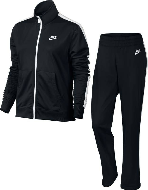 Костюм спортивный женский Nike Sportswear Track Suit, цвет: черный. 830345-010. Размер S (42/44) disney baby carrier front facing infant breathable comfortable sling mickey minnie backpack toddler detachable carrier