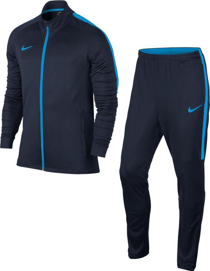 Костюм спортивный мужской Nike Dry Football Tracksuit, цвет: синий. 844327-454. Размер L (50/52) костюм спортивный nike dry academy 18 football tracksuit 893709 657 красн черн