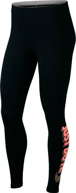 Леггинсы женские Nike Sportswear Leggings, цвет: черный. 883657-011. Размер L (48/50)