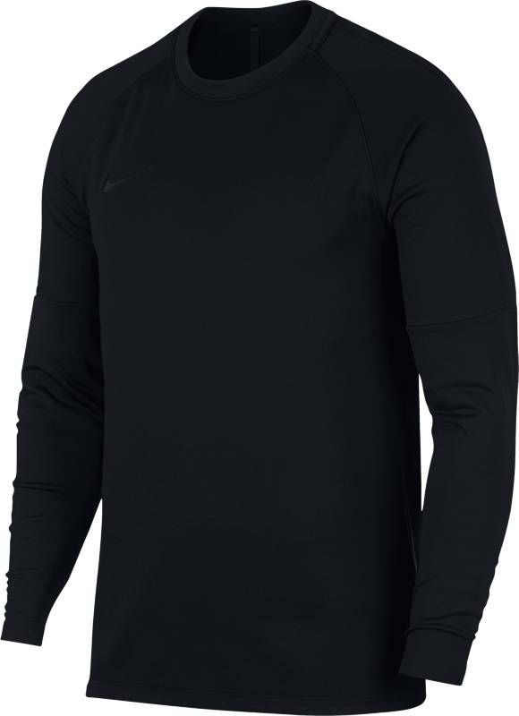 Лонгслив мужской Nike Dry Academy Football Crew Top, цвет: черный. 926427-013. Размер S (44/46) лонгслив мужской nike dry football drill top цвет черный 839344 013 размер s 44 46