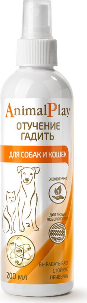 Спрей для коррекции поведения Animal Play Отучение гадить, для собак и кошек, 200 мл