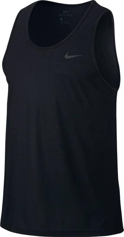 Майка мужская Nike Breathe Training Tank, цвет: черный. 832863-010. Размер M (46/48)