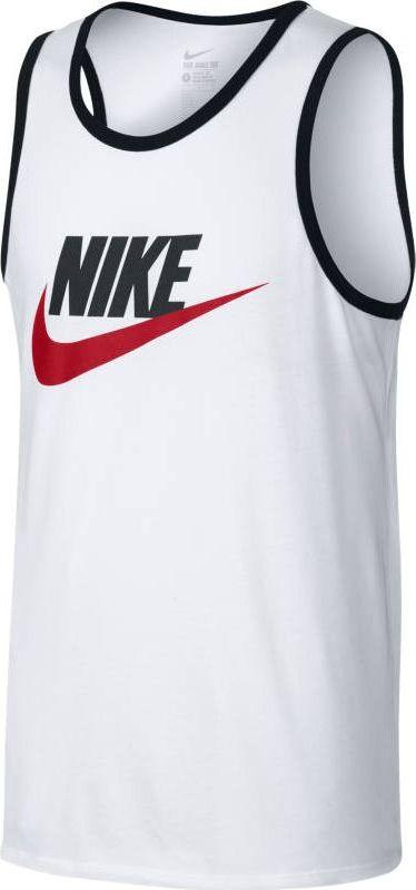 Майка мужская Nike Sportswear Ace Logo Tank, цвет: белый. 779234-102. Размер S (44/46) uniscend logo power ace 3000 mah