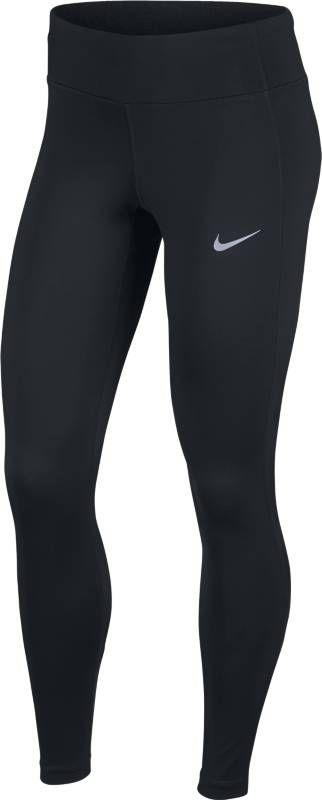 Тайтсы женские Nike Power Running Tights, цвет: черный. 890371-010. Размер L (48/50)890371-010Благодаря плотной посадке эластичные женские тайтсы для бега Nike Power обеспечивают защиту и поддержку во время пробежки. Вставки из сетки для охлаждения на протяжении всей пробежки. Эластичная ткань Nike Power обеспечивает поддержку. Сетчатая ткань в области икроножных мышц улучшает вентиляцию. Внешний прорезной карман на штанине для удобного доступа к мобильному устройству. Ткань с технологией Dri-FIT отводит от кожи влагу, обеспечивая комфорт. Эластичный пояс со шнуром-кулисой для идеальной посадки. Задний карман по центру на молнии с паронепроницаемым слоем защищает предметы от влаги. Конструкция кармана надежно удерживает мобильное устройство.