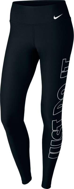 Тайтсы женские Nike Power Training Tights, цвет: черный. 897878-010. Размер XL (50/52) тайтсы nike тайтсы g np cl tght
