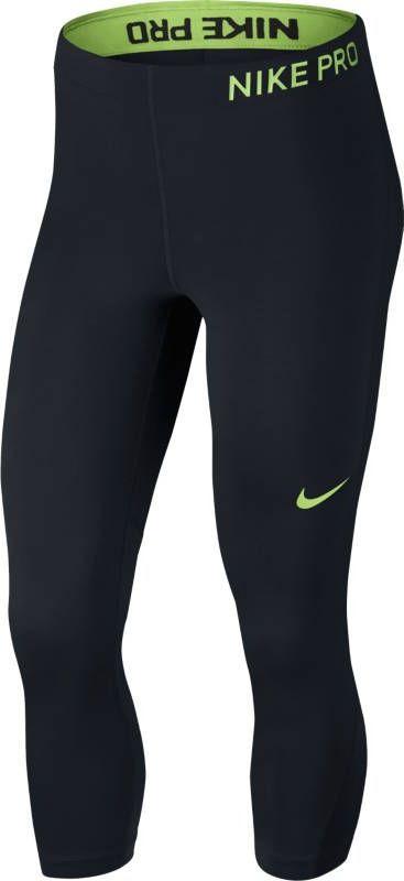 Тайтсы женские Nike Pro Capris, цвет: черный. 889567-013. Размер M (46/48) тайтсы pro fit тайтсы