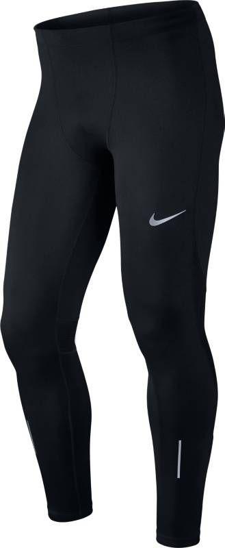 Тайтсы мужские Nike Power Running Tights, цвет: черный. 856886-010. Размер L (50/52)