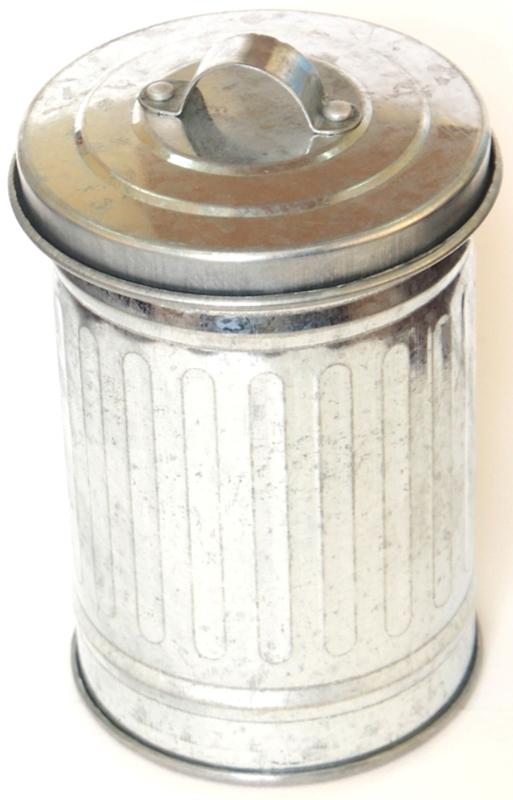 Подставка для столовых приборов Карамба Бачок, цвет: серебристый, 11 x 7 cм подставка для столовых приборов cosmoplast цвет красный диаметр 14 см