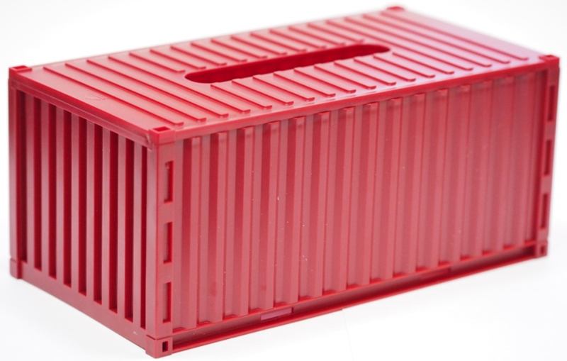 Салфетница Карамба Контейнер, цвет: бордовый, 23 x 9 x 9 см