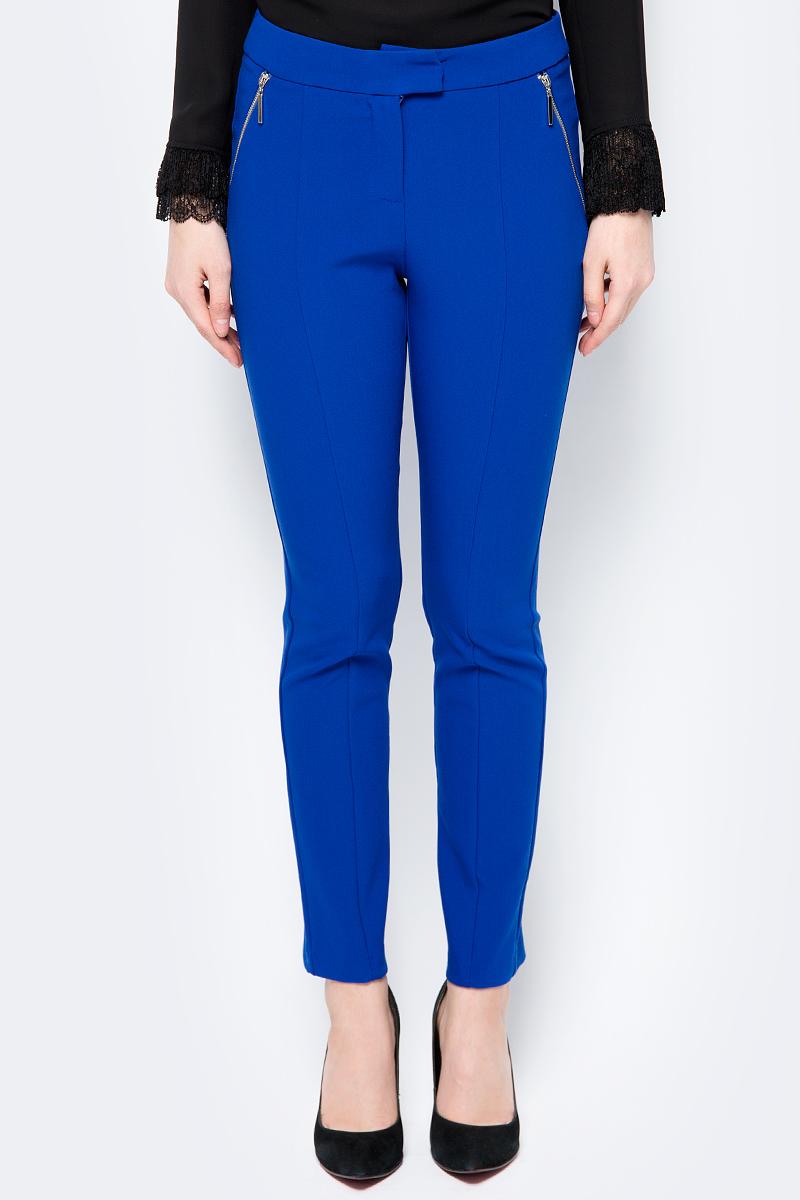 Брюки женские adL, цвет: голубой. 15333477000_022. Размер XS (40/42)