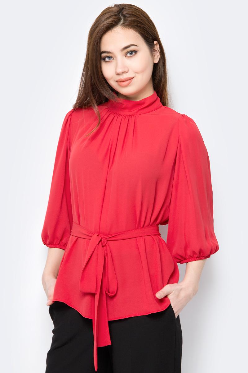 Блузка женская adL, цвет: красный. 11533623000_006. Размер XS (40/42)